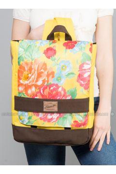 Yellow - Backpacks - Fudela(110321082)