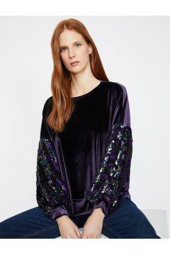 Koton Kadın Pul Detayli Sweatshirt(117990821)