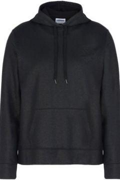 Sweat-shirt Converse Fleece Hood Ct Metal Felpa Nera Cappuccio(115476436)