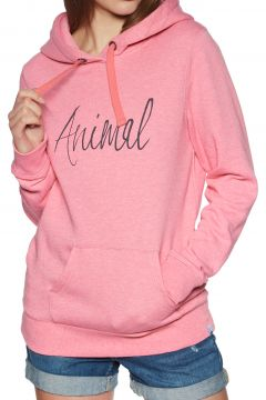 Pullover à Capuche Femme Animal Sketched - Strawberry Pink Marl(111321862)