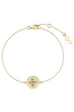 Her Story Kadın Sağlık Gold Madalyon Detaylı Altın Rengi Bilezik Sarı EU(118059035)