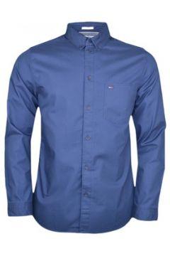 Chemise Tommy Jeans Chemise bleu marine avec poche régular pour homme(115411483)