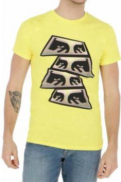 T-shirt Obey PYRAMID EYES GIALLA(115538592)