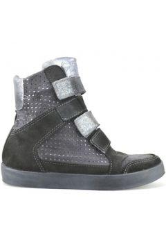 Chaussures Beverly Hills Polo Club POLO talons compensé gris daim AJ15(115399676)