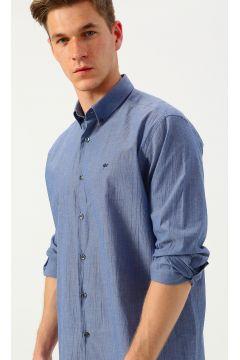 İgs Regular Fit Lacivert Uzun Kollu Gömlek(113981794)