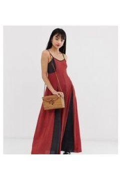 Brave Soul Petite - Gina - Vestito lungo con stampa mista-Rosso(123213883)