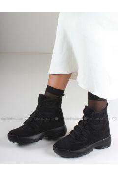 Black - Boot - Boots - İnan Ayakkabı(110336852)