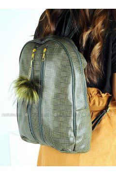 Khaki - Backpacks - WMİLANO(110321581)