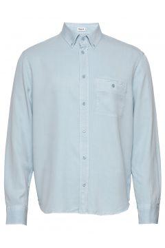 M. Zachary Tencel Shirt Hemd Casual Blau FILIPPA K(116547427)