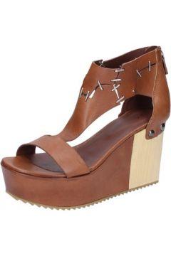 Sandales Vic sandales marron cuir BZ552(115394015)
