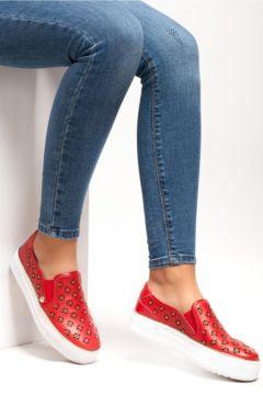 Ferre Kadın Kırmızı Casual Ayakkabı(124474809)