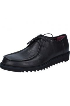 Chaussures Roberto Botticelli élégantes noir cuir BY588(115401364)