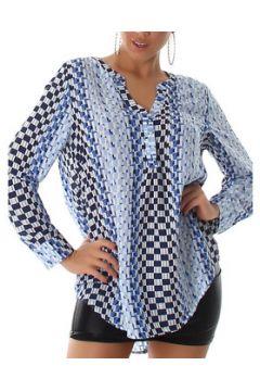 Blouses Cendriyon Tops Bleu Vêtements Femme(115620327)