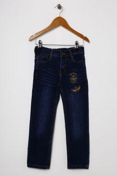 Funky Rocks Erkek Çocuk Jean Lacivert Pantolon(113965478)