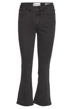 Malcolm Kick Flare Wash Charcoal Jeans Mit Schlag Grau TOMORROW(114153489)