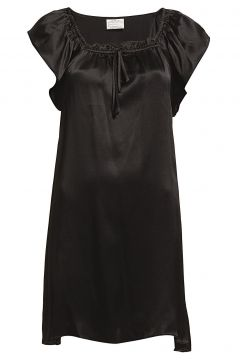 Baby Doll Nachthemd Negligé Schwarz LADY AVENUE(108838792)