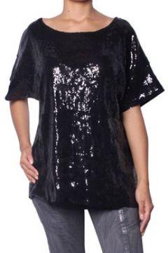 T-shirt Pierre Balmain - Top à Sequins pour Femme(88530950)