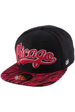 Casquette Coke Boys Snapback Chicago visière zèbre Rouge(115455470)