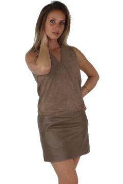 Robe Redskins Robe Emma cuir ref_trk39339-havana(115557597)