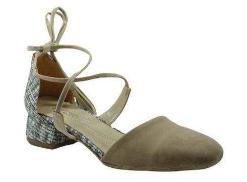 My Choice Kadın Ten Süet Topuklu Ayakkabı 01-517(120145516)