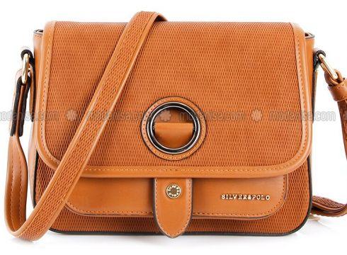 Tan - Shoulder Bags - Silver Polo(110324495)