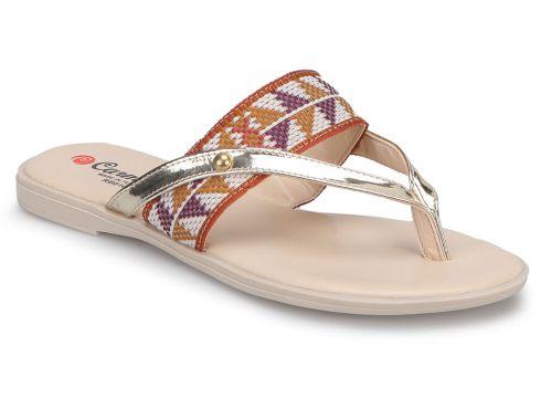 Carmens RB010 Taba Kadın Terlik - FLO Ayakkabı(88808129)