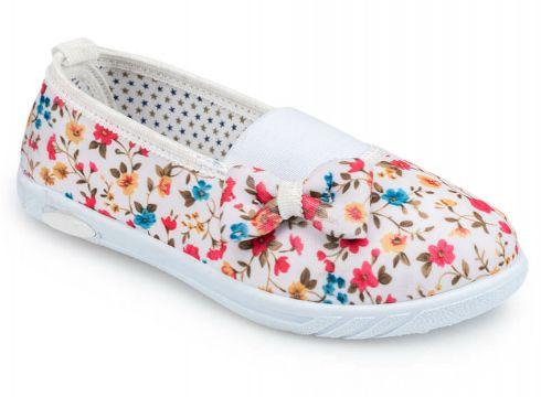 Polaris 91.511133.p Beyaz Kız Çocuk Babet - FLO Ayakkabı(77856140)