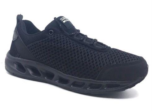 Scooter M5462 Siyah Erkek Fileli Memory Taban Yazlık Spor Ayakkabı(113623337)
