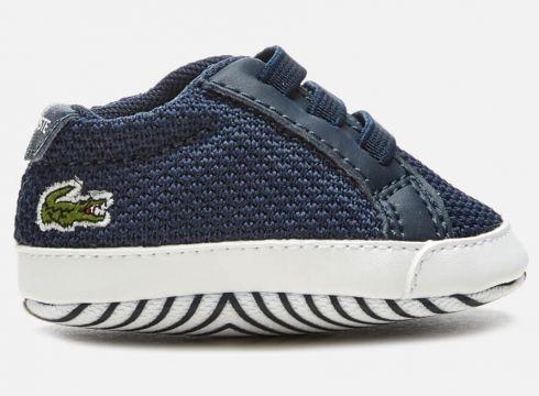 Lacoste Babies\' L.12.12 Crib 318 1 Trainers - Navy/White - UK 0 Baby - Blau(58975485)