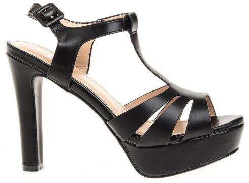 Yees Siyah Topuklu Ayakkabı(119507774)
