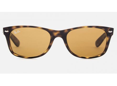 Ray-Ban Men\'s New Wayfarer Sunglasses - Light Havana(90293803)