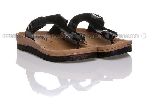 Black - Sandal - Sandal - Ayakkabı Havuzu(100929538)