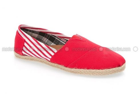 Red - Casual - Shoes - PNK(100929125)