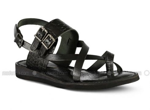 Black - Sandal - Marjin(110337933)