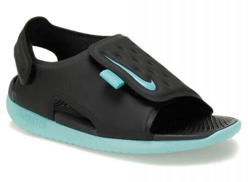Nike Sunray Adjust 5 (td) Siyah Turkuaz Erkek Çocuk Sandalet - FLO Ayakkabı(84071517)