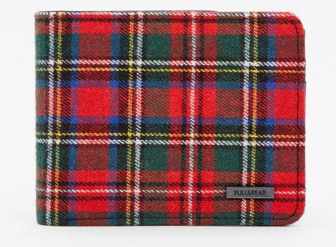 Portfel w czerwoną szkocką kratę(53063801)