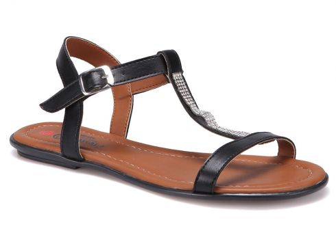 Carmens ART04 Siyah Kadın Sandalet - FLO Ayakkabı(88807922)
