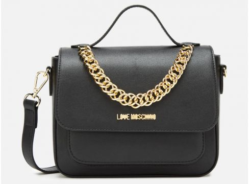 Love Moschino Women\'s Chain Cross Body - Black(89038867)