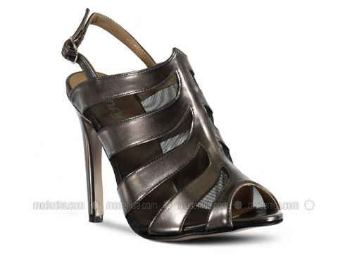 Silver Tone - High Heel - Shoes - Marjin(110337940)