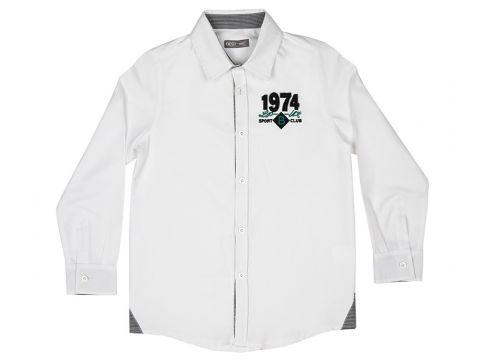 Chemises Pour Garçon Best Kids Blanc(102889539)