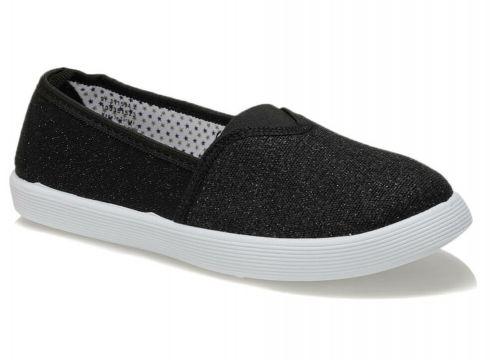 Polaris 91.311594.z Siyah Kadın Slip On Ayakkabı - FLO Ayakkabı(89493445)