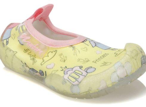NEWBORN Naq2010 Aqua Princess Beyaz Pembe Çok Renkli Kız Çocuk Terlik - FLO Ayakkabı(84071425)