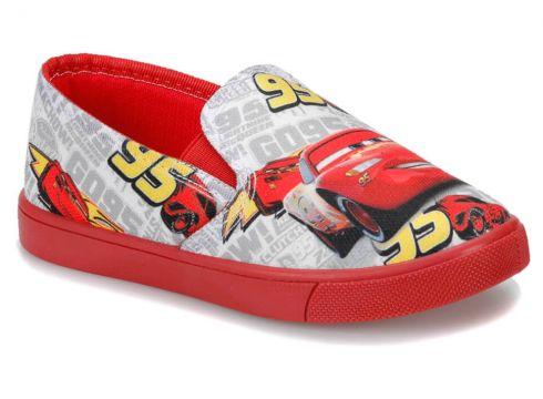 Cars 91.greew.p Beyaz Erkek Çocuk Slip On Ayakkabı - FLO Ayakkabı(69094650)