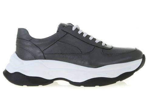 Fabrika Gri Deri Sneaker(125280073)