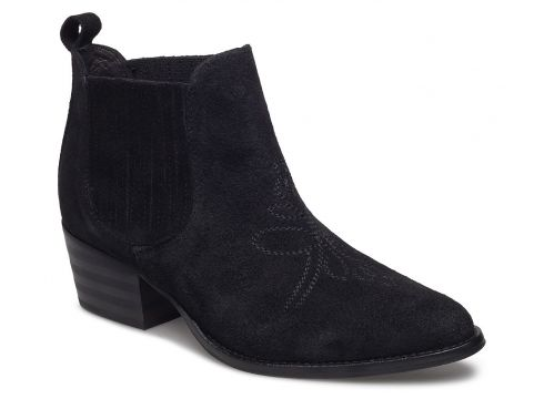 Leila S Shoes Boots Ankle Boots Ankle Boots With Heel Schwarz SHOE THE BEAR(108941594)