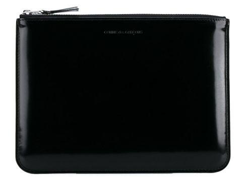 Comme Des Garçons Wallet pochette zippée - Noir(65473549)