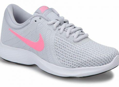 Revolution 4 Eu Gri Kadın Koşu Ayakkabısı - FLO Ayakkabı(82814985)