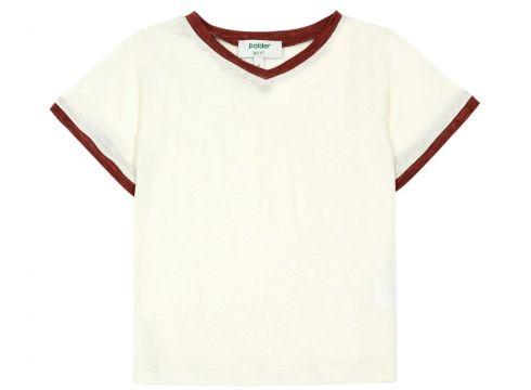 Zweifarbiges T-Shirt aus Leinen Do(113867514)