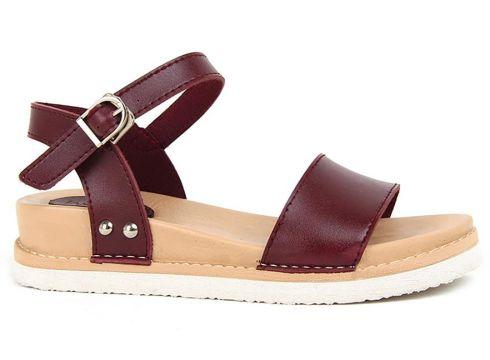 Jasmine Bordo Kadın Sandalet(105256858)