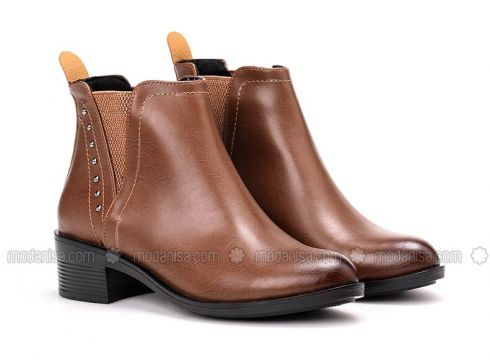 Tan - Boot - Boots - Just Shoes(110336937)